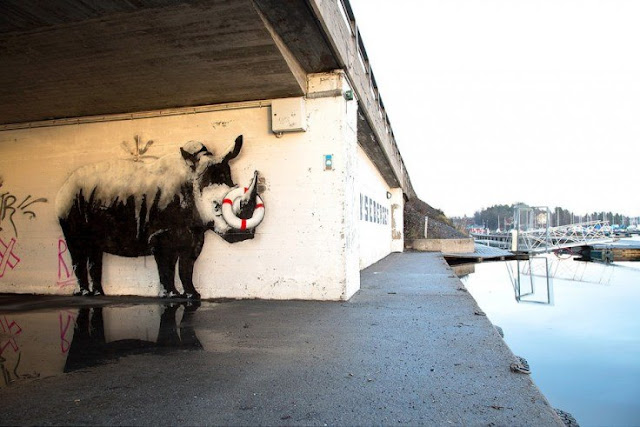 Images gallery (#20) of street art, the best unauthorized art