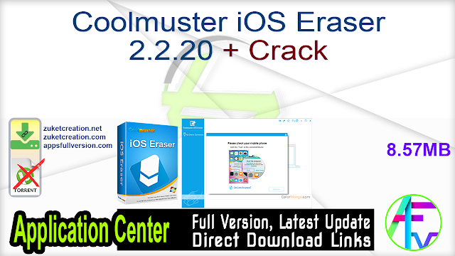 Coolmuster iOS Eraser 2.2.20 + Crack