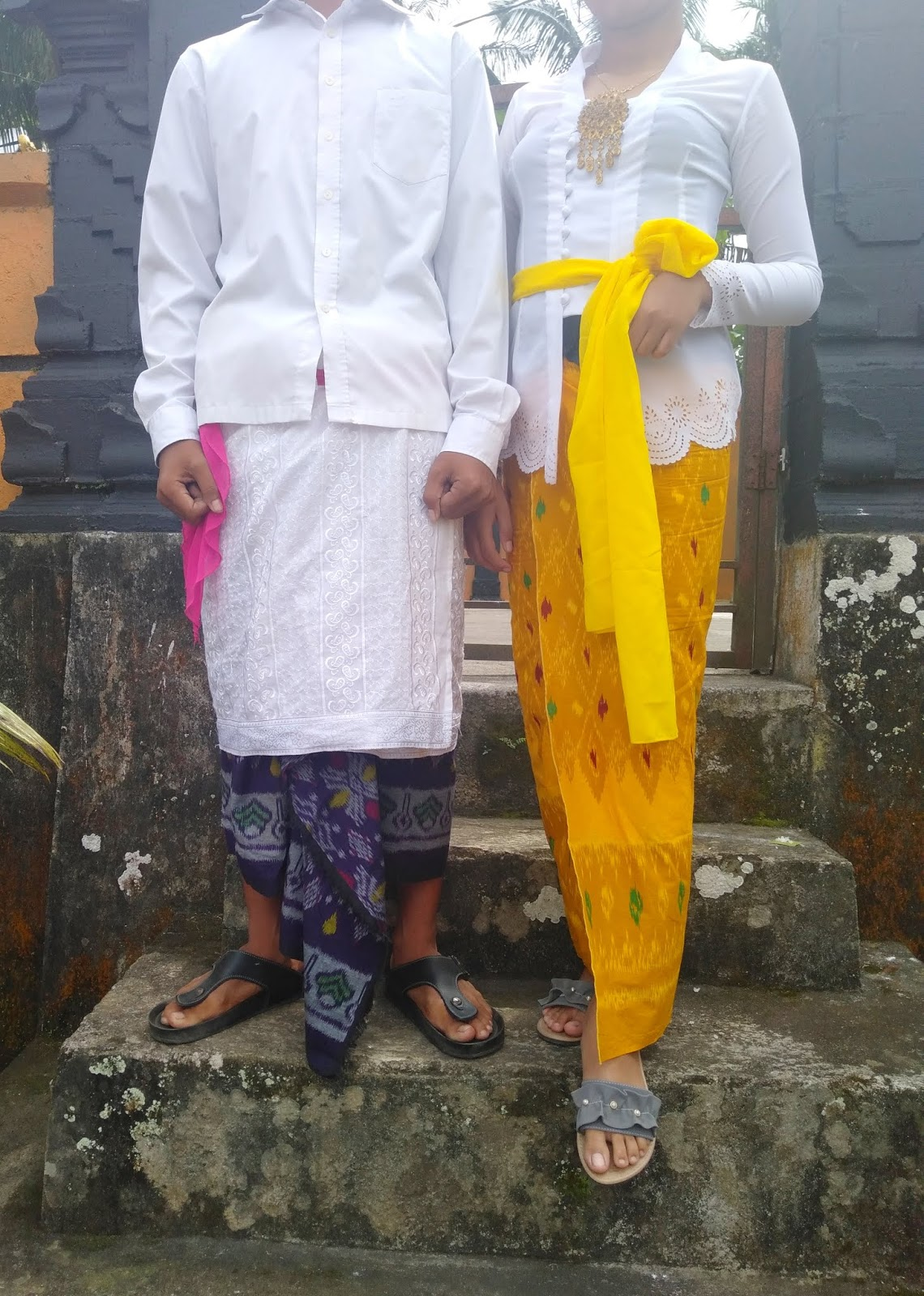Pakaian Adat Madya Bali Pria