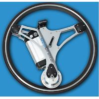 Roue GeoOrbital pour vélo électrique