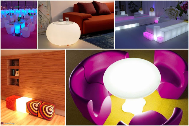 Luminous Furniture – Amazing Home Lighting Furniture