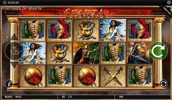 Main Slot Gratis Indonesia - Fortunes of Sparta (Blueprint Gaming)