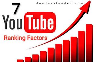 Seven 7 YouTube Ranking factors
