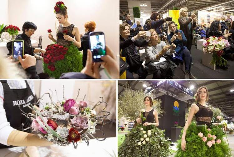 Myplant & Garden: florovivaismo, fiori, paesaggio, con stilisti e sfilate flower-fashion