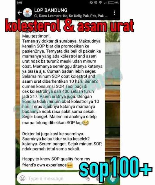 Jual Isi SOP Subarashii - Obat Tradisional Penyakit Gula, Info di Sambas. SOP Salmon Ovary Peptide.