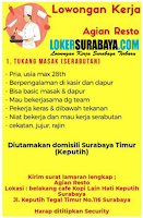 Lowongan Kerja Surabaya di Agian Resto Agustus 2020