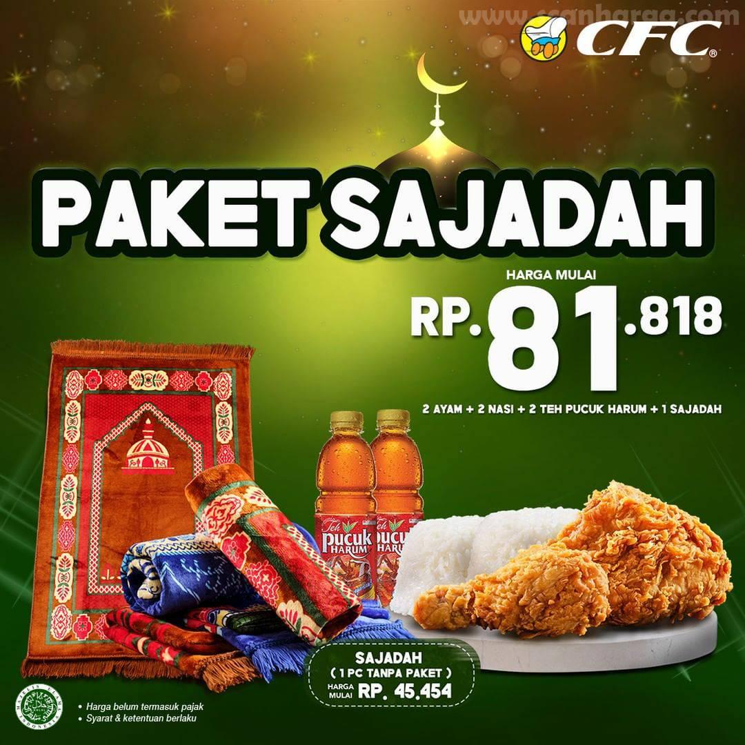CFC Promo Paket Sajadah & KOMANDAN - Harga mulai Rp 30.000