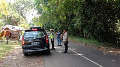 Polsek Suela Mulai Lakukan Penjagaan di Jalur Wisata Menuju Sembalun