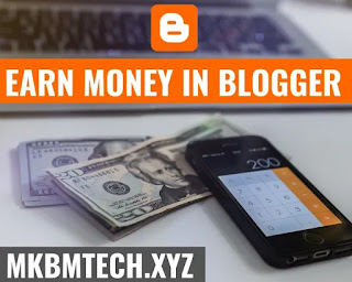 How to earn money from blogspot
