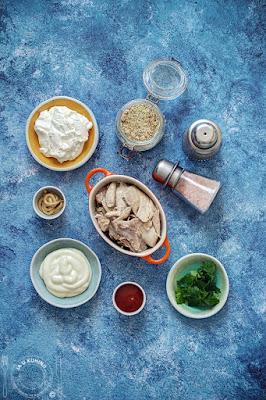 Pašteta (namaz) od kuvane piletine