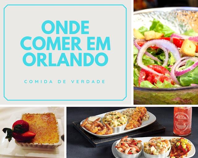 Onde comer muito bem em Orlando