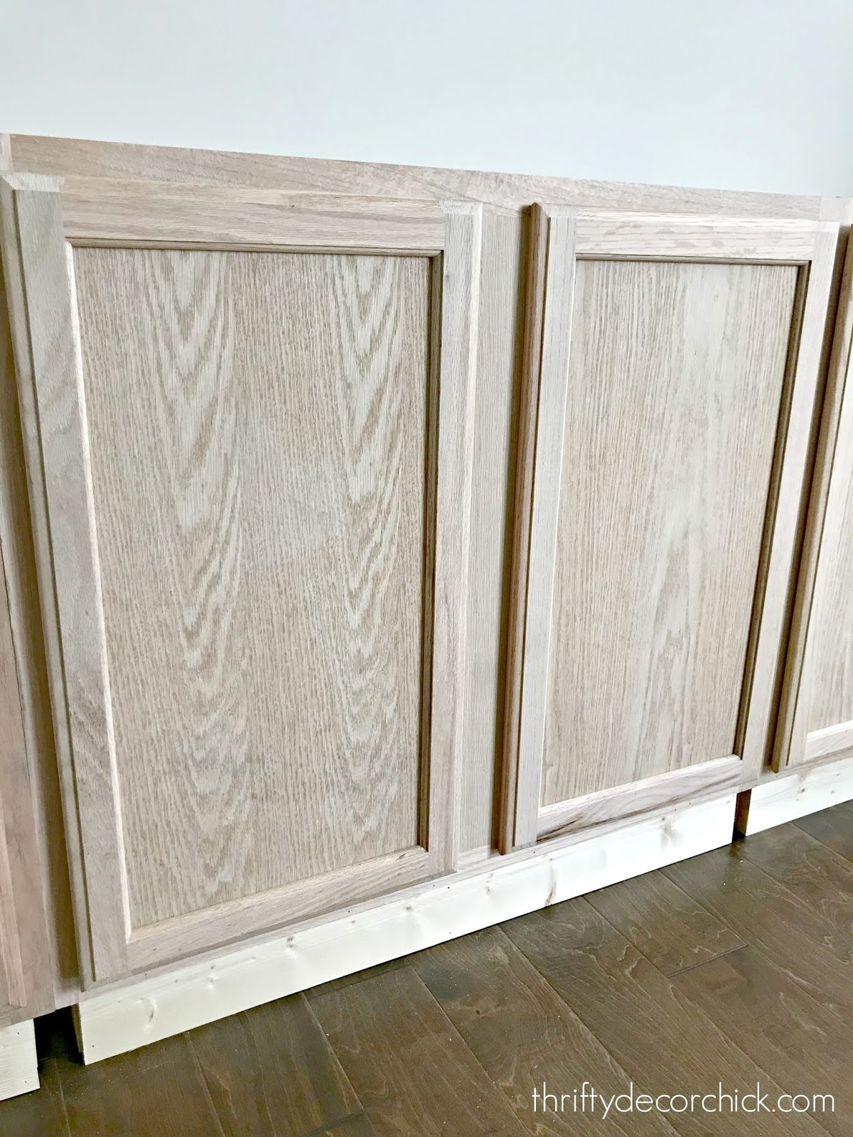Using upper cabinets for built ins