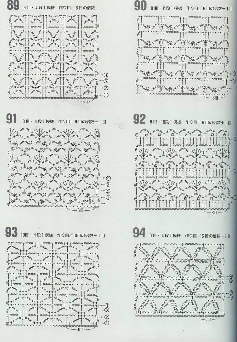 Ergahandmade Crochet Stitches Diagrams Diagram For Instructions Click Here Http Ergahandmadeblogspotgr 2015 06 Stitcheshtml