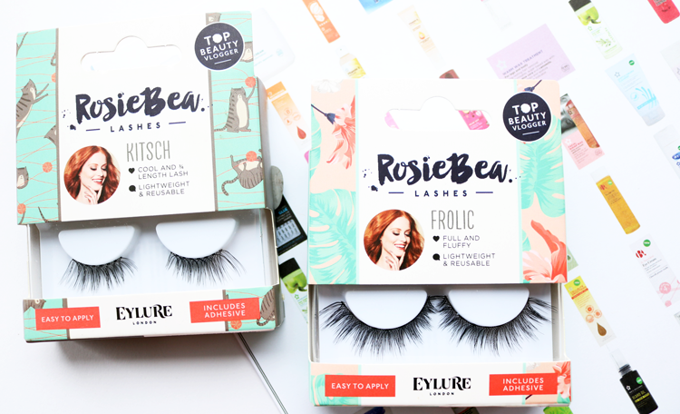 Rosie Bea x Eylure Lashes - Kitsch and Frolic review