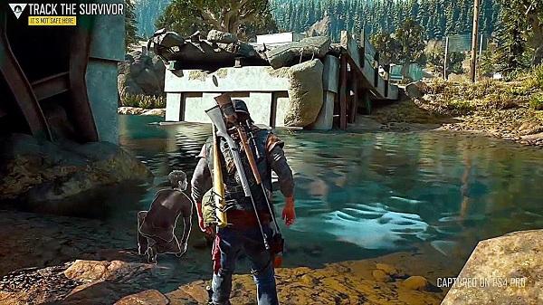 هذه المساحة الإجمالية للعبة Days Gone بعد التثبيت على جهاز PS4