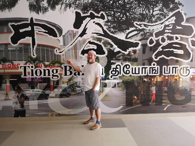 Tiong Bahru mural
