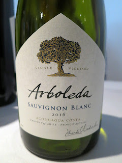 Arboleda Single Vineyard Sauvignon Blanc 2016 (88 pts)