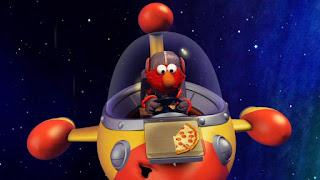 Space Pizza Delivery Monster, Elmo the Musical Pizza the Musical, Darth Chicken, the Martians, Sesame Street Episode 4316 Finishing the Splat season 43