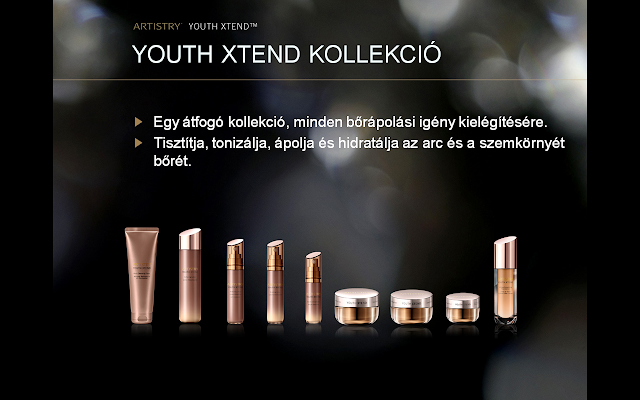 Youth Xtend bőrápoló rendszer