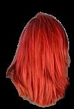 Red colour of sedu hair colour