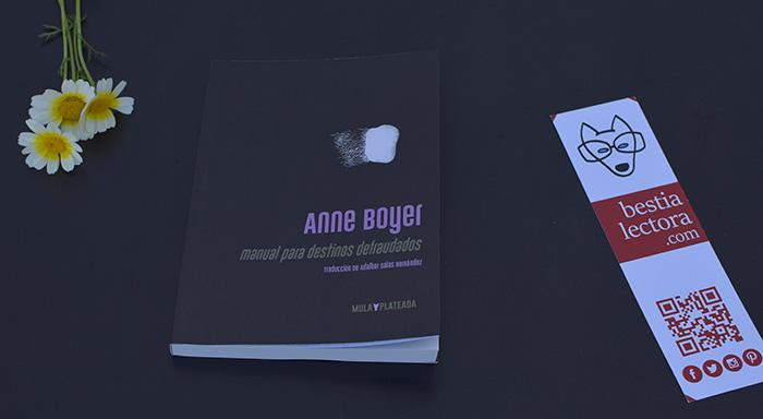 Reseña de «Manual para destinos defraudados» de Anne Boyer (Kriller 71 Ediciones)