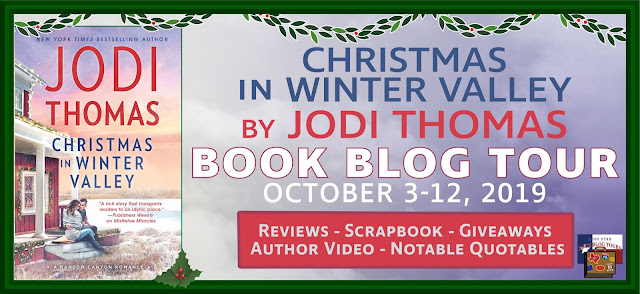 Christmas in Winter Valley book blog tour promotion banner