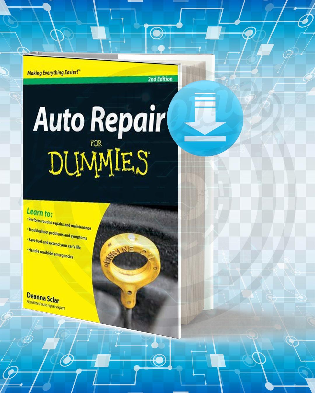Free Book Auto Repair For Dummies pdf.