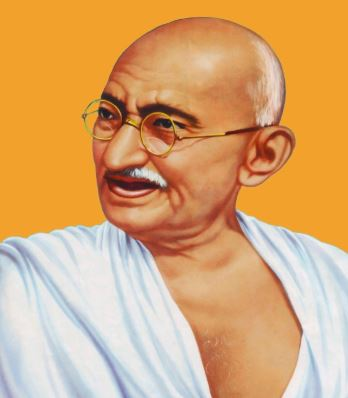 What is Gandhi's role in the national movement