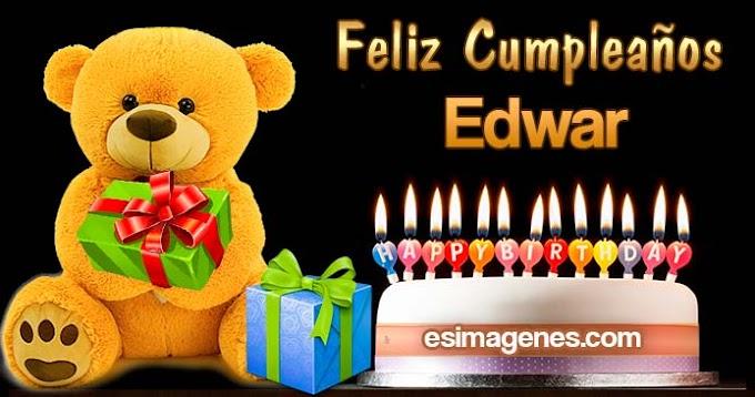 Feliz Cumpleaños Edwar