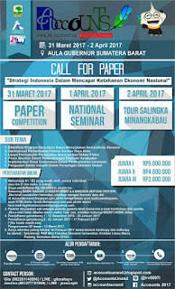 Lomba Karya Tulis Nasional ACCOUNTS 2017