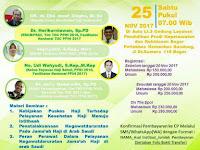 Seminar Nasional dan Workshop Kesehatan Haji 25 November 2017 Bandung