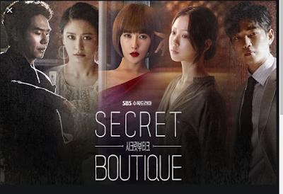 Top 21 Drama Korea Terbaik 2019, Korean Drama, Drama Korea, Korean Drama 2019, Review By Miss Banu, Blog Miss Banu Story, Drama Korea Secret Boutique, Poster Drama Korea Secret Boutique,