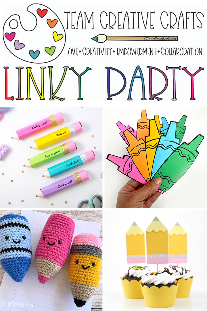 Team Creative Crafts Link Party #56
