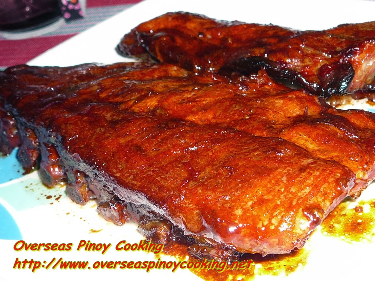 Baby Back Ribs Pinoy Style