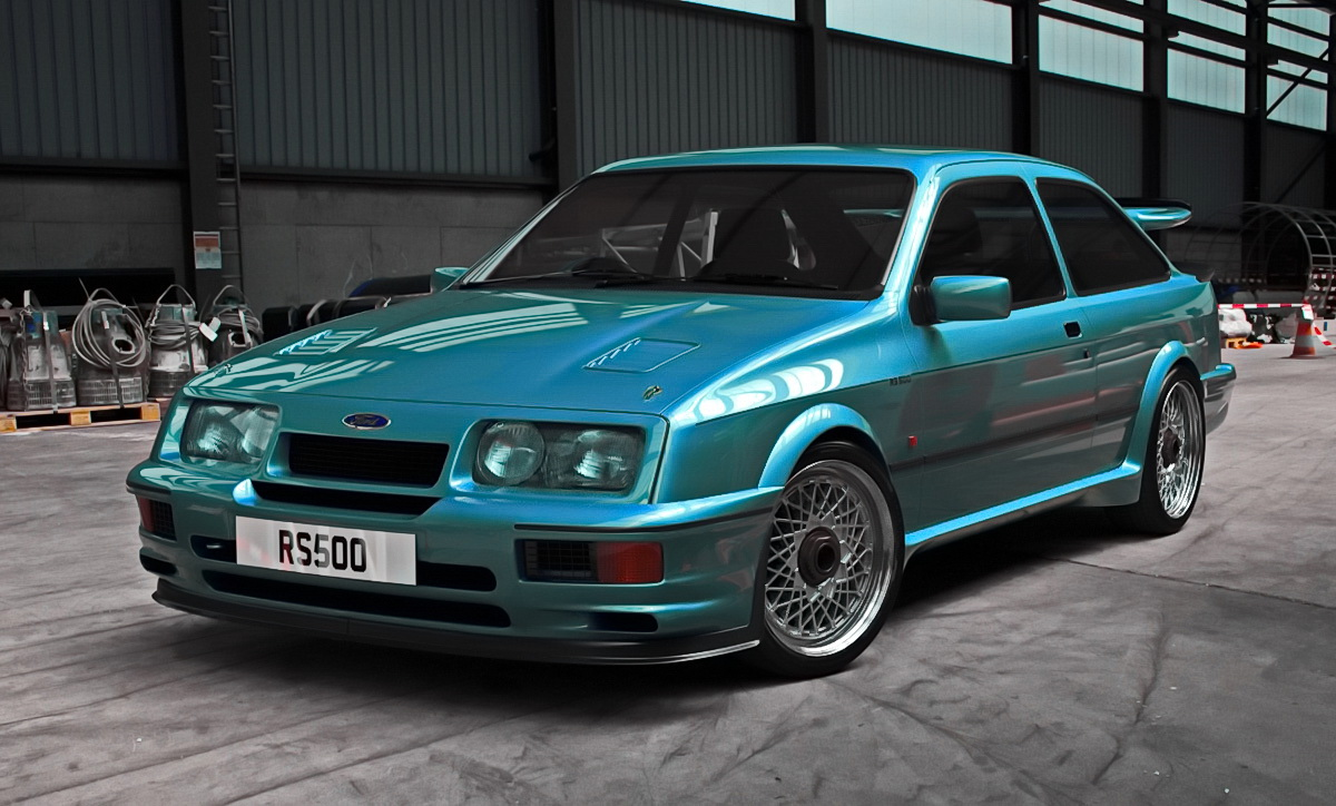 Vip Rc Body Ford Sierra Cosworth Rs500