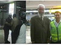 Heboh, Dr Zakir Naik Ternyata Tiba di Indonesia Bareng Raja Salman