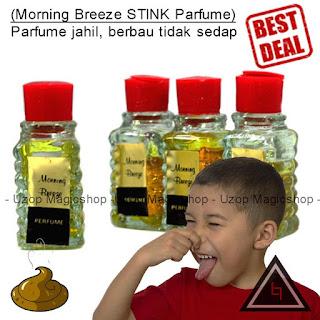 Jual alat sulap, alat jahil, mainan anak Parfum bau STINK Morning Breeze