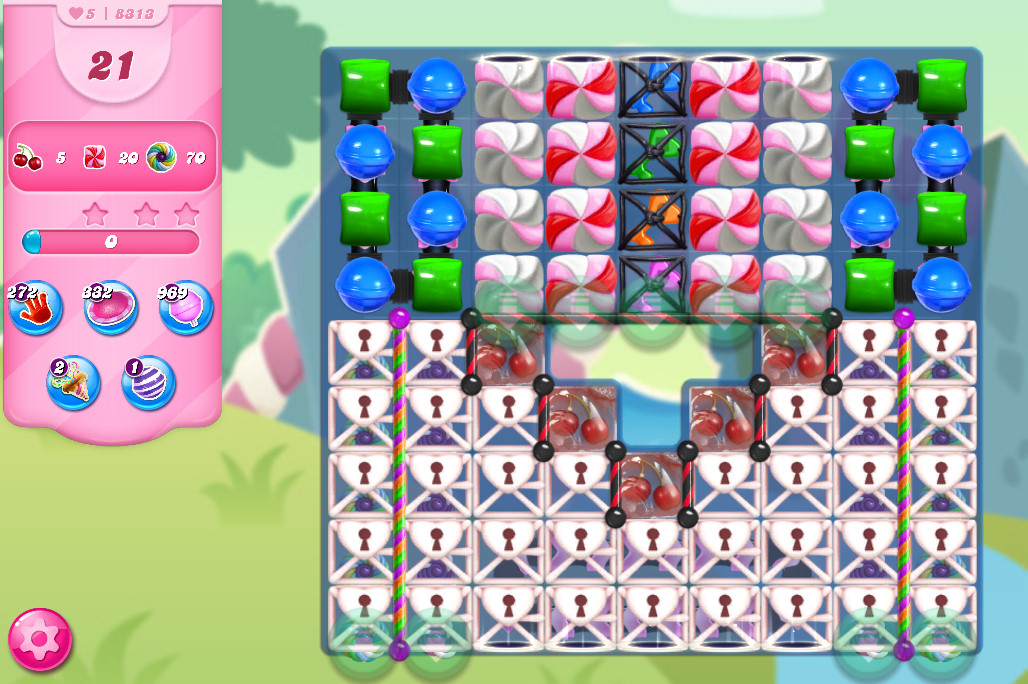 Candy Crush Saga level 8313