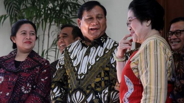 Pengukuhan Prabowo di KLB Jadi Ajang Persekutuan Gerindra-PDIP