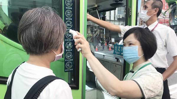 搭乘客運配戴口罩+實聯制 彰化監理站籲共同防堵疫情