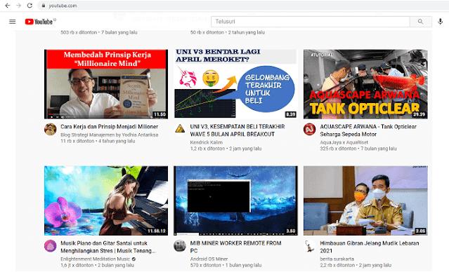 Cara memilih Konten YouTube yang Bagus untuk Pemula
