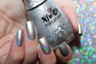 "Swatch of the nail polish ""Nfu 61"" from Nfu Oh"
