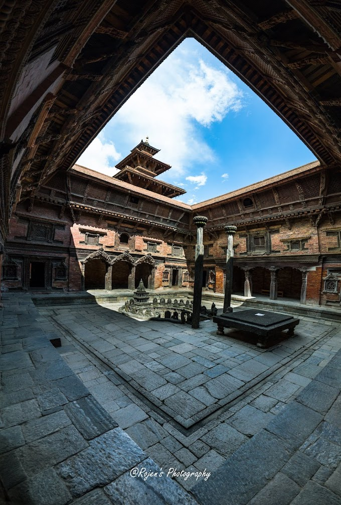Sundari Chowk courtyard