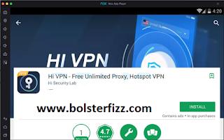Hi VPN for PC Windows