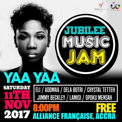 From Badu Lounge To Alliance Francaise - Yaa Yaa Set For Another Thrilling Show