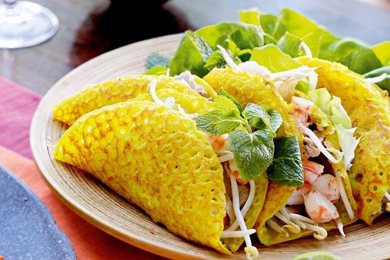 Vegan Banh Xeo (Vietnamese pancake)