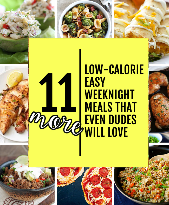 Low Cal Weeknight Meals