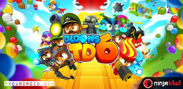تحميل لعبة الإستراتيجية الرائعة  Bloons TD 6 نسخة مهكرة كاملة للاندرويد باخر تحديث برابط مباشر سريع مجانا