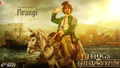 Aamir Khan First Look in Thugs of Hindostan, Aamir Khan Role in Thugs of Hindostan