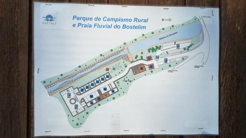 Parque de Campismo Rural e Praia Fluvial do Bostelim